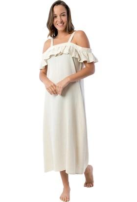 İkikız Fırfırlı Elbise