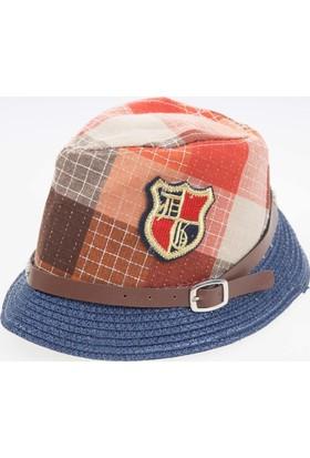 Soobe Erkek Çocuk Hasır Şapka Karışık Renkli