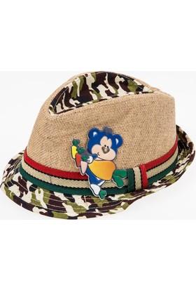 Soobe Erkek Çocuk Hasır Şapka