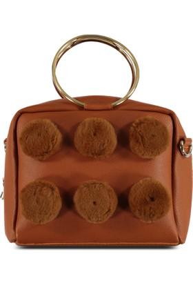Marjin Şisel Günlük Postacı Çanta Camel