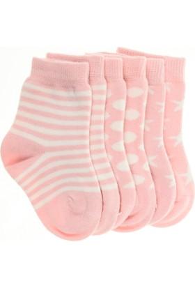 Pixter&Bro Trend Happy Candybaby Çocuk Üçlü Soket Çorap Set