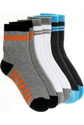 Pixter&Bro Happy Sportuni Erkek Çocuk Üçlü Soket Çorap Set