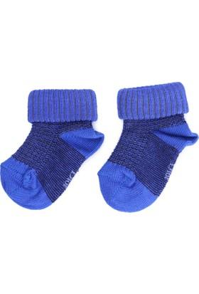 Dior Erkek Bebek Çorap Mavi