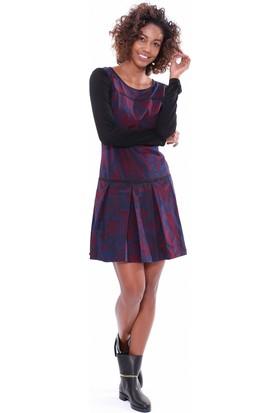 Dkny Kadın Elbise Bordo