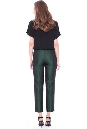 Jil Sander Kadın Navy Pantolon Yeşil