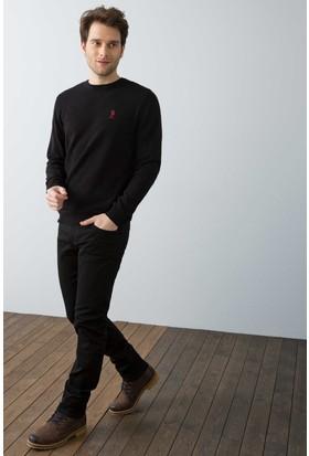 U.S. Polo Assn. Erkek Carlos7S Pantolon Siyah
