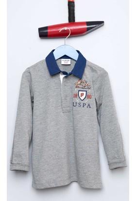 U.S. Polo Assn. Erkek Çocuk Casey Sweatshirt Gri