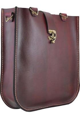 Shaman'S Leather Deri Koltuk Altı Askılı Çanta