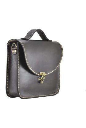 Shaman'S Leather Deri Büyük Post Çanta
