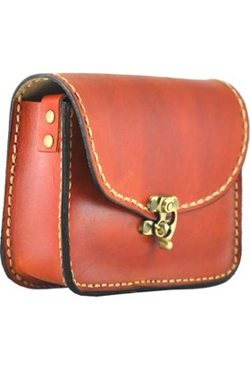 Shaman'S Leather Deri Küçük Post Çanta