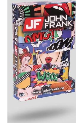 John Frank Erkek Boxer Jfb100 Omg Multıcolor