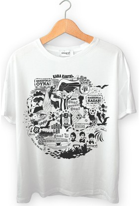Simografi Beşiktaş Tshirt