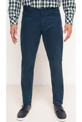 DeFacto Erkek Gabardin 5 Cep Pantolon Lacivert