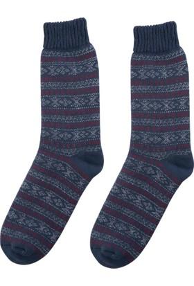 DeFacto Erkek Çocuk Termal Çorap Lacivert