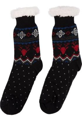 DeFacto Erkek Çocuk Kalın Çorap Siyah