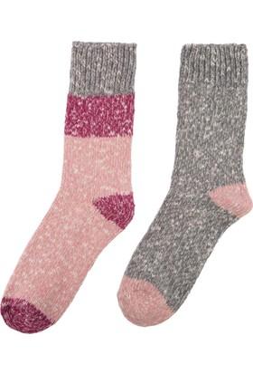 DeFacto Kadın Kalın Çorap Pembe