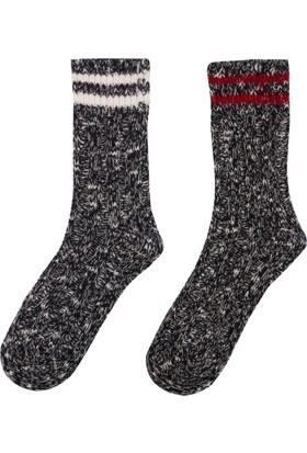DeFacto Kadın Kalın Çorap Lacivert