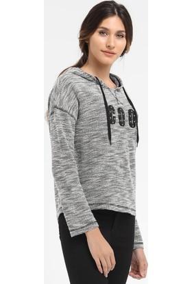 Loft Kapşonlu Kadın Sweatshirt 2016113