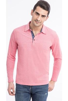 Kiğılı Polo Yaka Düz Regular Fit Sweatshirt