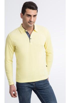 Kiğılı Düz Polo Pike T-Shirt