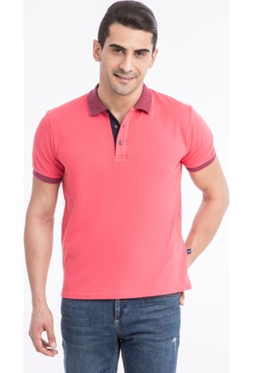 Kiğılı Polo Yaka Düz Regular Fit T-Shirt