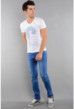 Rodin Hills Mavi Erkek Kot Pantolon 921