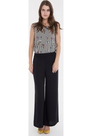 Collezione Kadın Pantolon Cardola Siyah