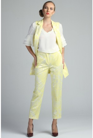 Yukimay Newyork Sarı Pantolon