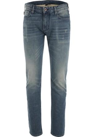 Armani Jeans Erkek Kot Pantolon 3Y6J066D0Ez