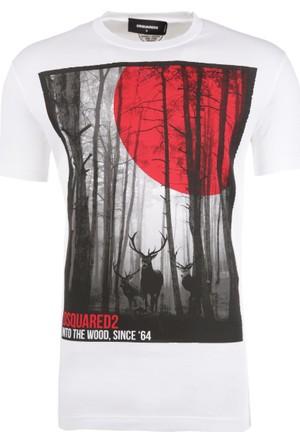 Dsquared2 Erkek T-Shirt S71Gd0556S22427