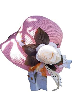 Shecco&Babba Kız Çocuk Şapka Aksesuarları El Yapımı 7-12 Yaş
