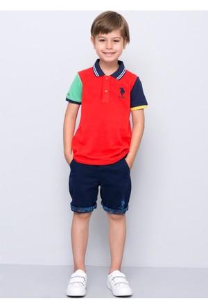 U.S. Polo Assn. Erkek Çocuk Dantekids7Y-Ing Şort Lacivert