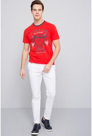 U.S. Polo Assn. Erkek Castle T-Shirt Kırmızı