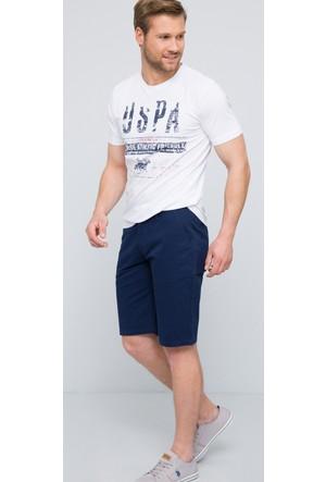 U.S. Polo Assn. Erkek Zeror T-Shirt Beyaz