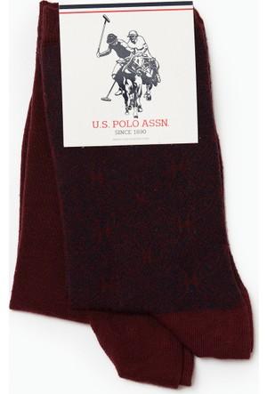 U.S. Polo Assn. Kadın Swich Çorap Kırmızı