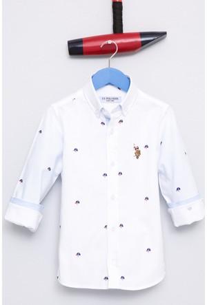 U.S. Polo Assn. Erkek Çocuk Rohkids Gömlek Beyaz