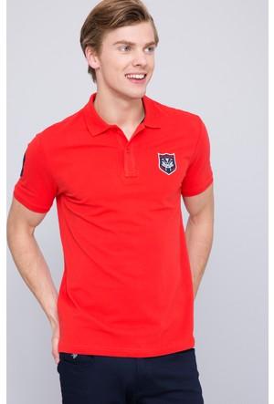 U.S. Polo Assn. Erkek Chelsea T-Shirt Kırmızı