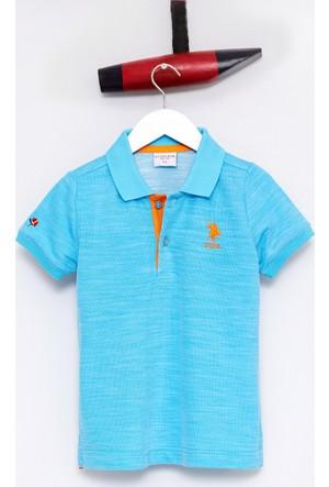U.S. Polo Assn. Erkek Çocuk Luiz T-Shirt Yeşil