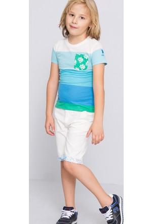 U.S. Polo Assn. Erkek Çocuk Punch T-Shirt Mavi
