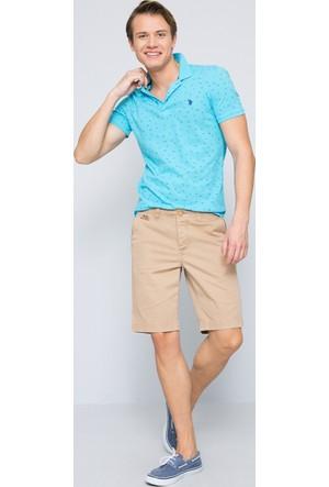 U.S. Polo Assn. Erkek River T-Shirt Yeşil