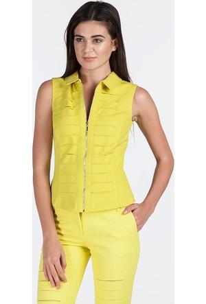 Bovona 55113 Sarı Ceket