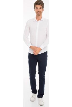 Collezione Erkek Gömlek Uzun Kol Hemell Beyaz