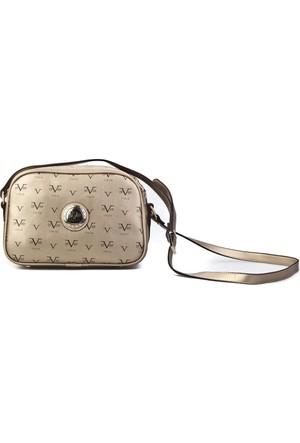 Versace 19.69 Abbigliamento Sportivo Srl.Omuz Askılı Günlük Kadın Çanta Altın