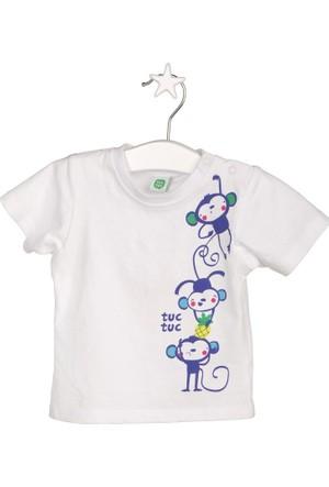 Tuc Tuc Maymunlar T-shirt Isla Bonita Beyaz