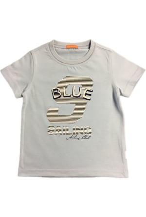 Karamela Erkek Çocuk T-shirt-Yelken Mavi