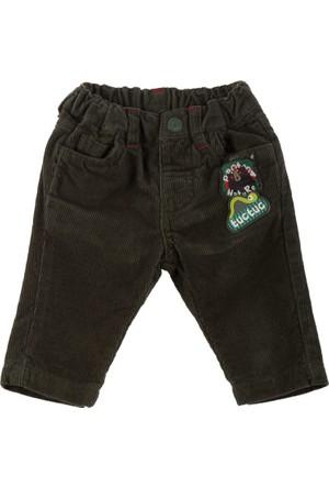 Tuc Tuc Kadife Pantolon Nature Life Haki