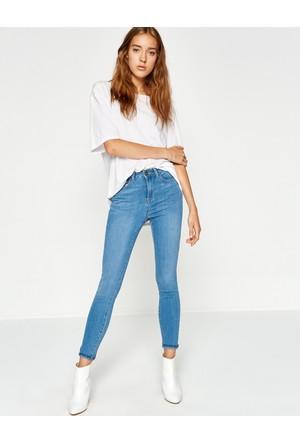 Koton Kadın Skinny Jean Pantolon Mavi