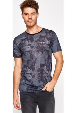 Koton Erkek T-Shirt Siyah