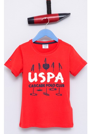 U.S. Polo Assn. Erkek Çocuk Dean T-Shirt Kırmızı