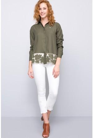 U.S. Polo Assn. Kadın Brode7Y Pantolon Beyaz